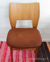 Asko tuoli 50-luvulta, suunnittelija Olavi Lieto