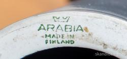 Arabia pöytävalaisimen jalka, fajanssi, 1960-luku