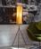 1960-luvun kolmijalkainen lattiavalaisin