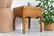 Rottinkipöytä lasikannella 56 x 56 cm