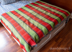 Keinutuolin matto / sängynpeitto,