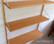 1950-luvun seinähylly, Vakiopuu Oy, design Jorma Valve