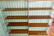 50-luvun industrial tyylin kirjahylly / hyllyjärjestelmä