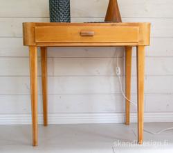 50-luvun eteispöytä / sivupöytä laatikolla