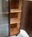 Kirjakaappi / vitriini 1940 - 50 lukua