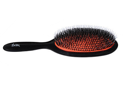 Yento MP Brush Nylon-Bristle Brush For Dogs,Large