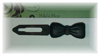 Bow Barrett black,size 3,5 cm.