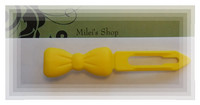 Bow Barrett Yellow size 3,5 cm
