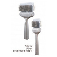 Silver Coat Grabber STARK 9 CM