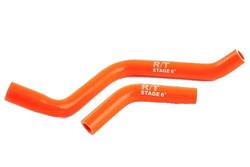 Stage6 R/T jäähdyttäjänletkut, oranssi, Derbi Senda 06->