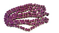 Osaki neon violetti 420 ketjut, 140 lenkkiä