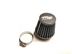 TNT vapaavirtaus ilmansuodatin 28/35mm, sininen/carbon