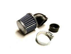 TNT vapaavirtaus ilmansuodatin 90° 28/35mm, carbon