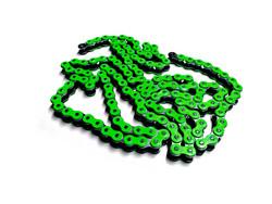 Osaki neon vihreä 420 ketjut, 140 lenkkiä