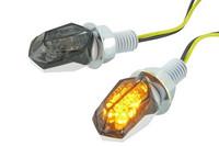 Black Line LED-mikrovilkut, valkoinen