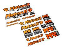 Metrakit Pro Race tarrasarja 2x 44x34cm, oranssi