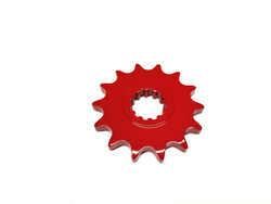 Etuhammasratas, punainen, Minarelli AM6, 12H