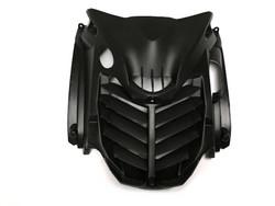 Etukatteen ritiläkate musta, Yamaha Aerox <-12