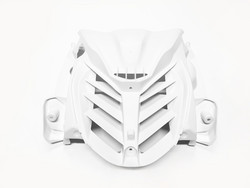 Etukatteen ritiläkate valkoinen, Yamaha Aerox 13->
