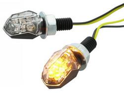 STR8 LED-mikrovilkut, musta