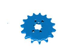 Etuhammasratas, sininen, Derbi Senda, 15H