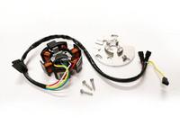 RMS staattori+pohjalevy, Ducati Minarelli AM6/Derbi