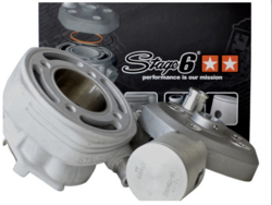Stage6 MK2 Sport alumiini sylinterisarja (12mm) 70cc, Peugeot Speedfight 3 (vesi)
