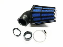 TNT R-EVO ilmansuodatin 28/35mm 90°, sininen