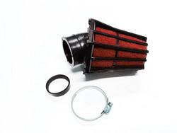 TNT R-EVO ilmansuodatin 28/35mm 30°, punainen