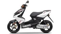 Yamaha siirtokalvotarra, valkoinen, 32cm x 8cm