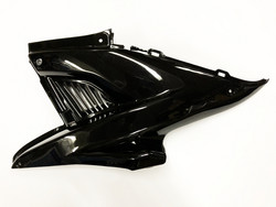 TNT z-kate (vasen), musta, Yamaha Aerox <-12