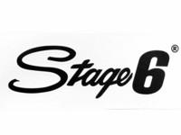 Stage6 tarra 20x6cm, musta