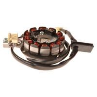 Forte staattori+pohjalevy (12-kääminen, Moric), Beta RR/Rieju MRT/Yamaha DT
