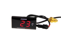 Voca Racing Super Slim LED lämpömittari 0-120°C, punainen
