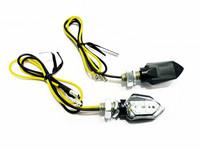 Piccolo LED-mikrovilkut, musta