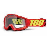 100% Accuri Saarinen (kirkaslinssi) ajolasit, punainen