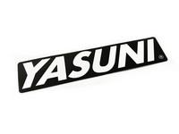 Yasuni äänenvaimentimen tarra 17x3,8cm