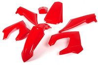 Toxik katesarja, punainen, Derbi Senda X-treme <-09
