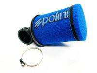 Polini ilmanputsari Racing Evo 90° 38mm, sininen