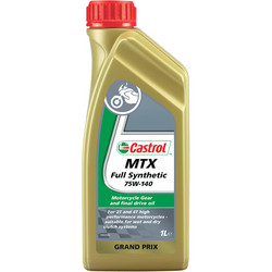 Castrol MTX täyssynteettinen vaihteistoöljy 75W-140, 1L