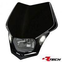Rtech V-Face LED valomaski, musta