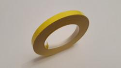 Vanneteippi 10mx6mm, keltainen