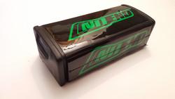 NoEnd Fatbar Tangonpehmuste, vihreä/musta