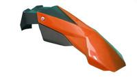 NoEnd super motard lokasuoja, oranssi