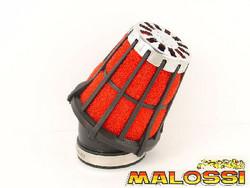 Malossi vaahtomuovi ilmanputsari 30° 38mm, punainen