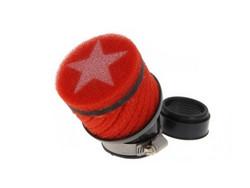 Stage6 vaahtomuovi ilmanputsari,  punainen (48mm, PWK)
