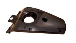 Ducktail, musta, Yamaha Aerox <-12