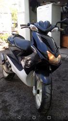 Läpinäkyvät takavalon ja vilkkujenkuvut, Yamaha Aerox <-12