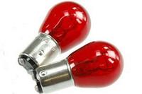 Takavalon polttimo BAY15D 12V/21/5W punainen
