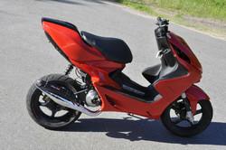 Stage6 Pro Replica pakoputki kromi, Yamaha skootterit (vaaka)
